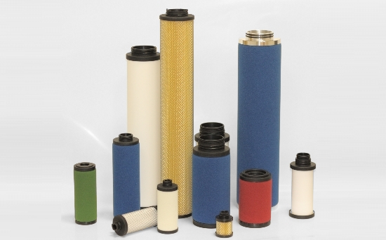 KENTEK filters for compressed air